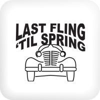 Last Fling til Spring button
